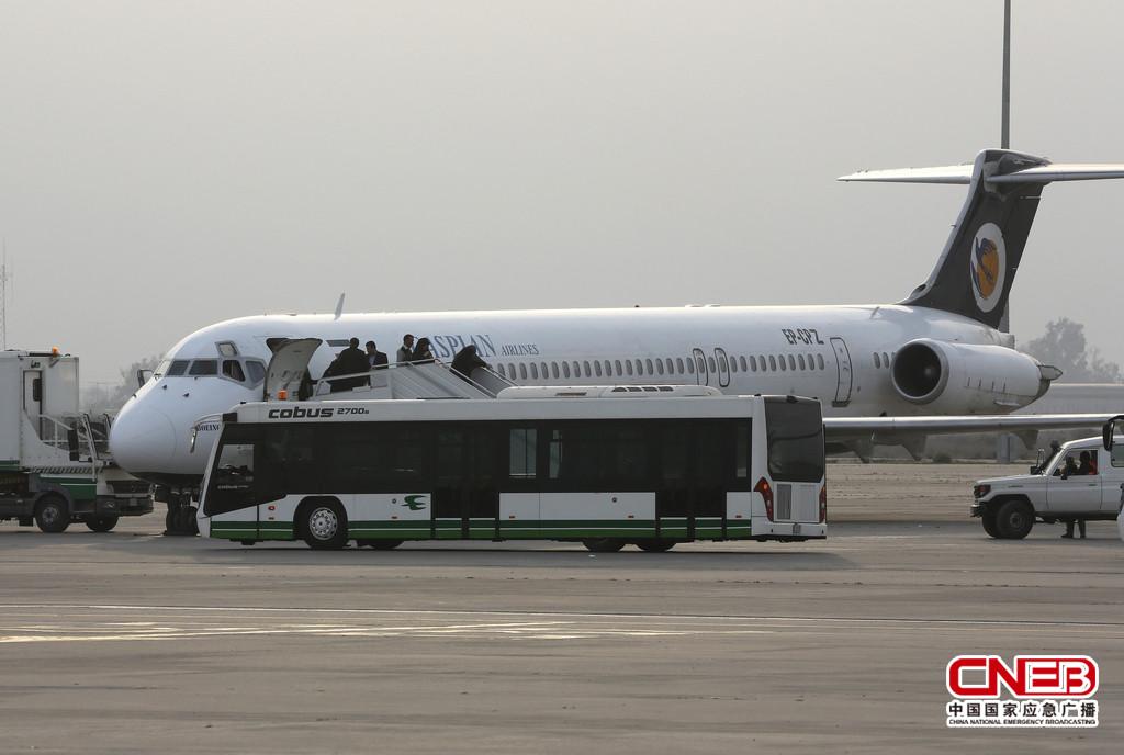 阿联酋航空公司客机在伊拉克首都机场遭袭