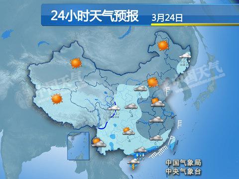 今天,广西、广东沿海地区仍有大雨。