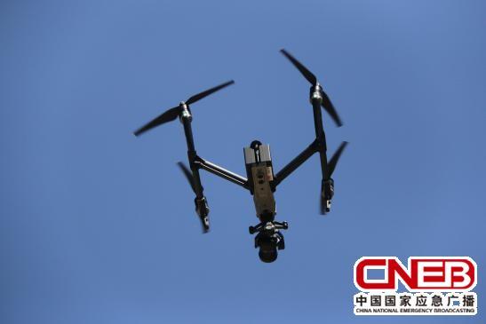 无人机拍摄已经成为应急报道重要的一种手段