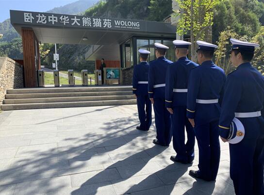 四川森林消防总队汶川大队卧龙中队。朱紫阳 摄
