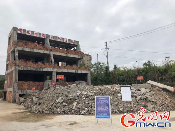 福州消防救援支队开展地震救援演练