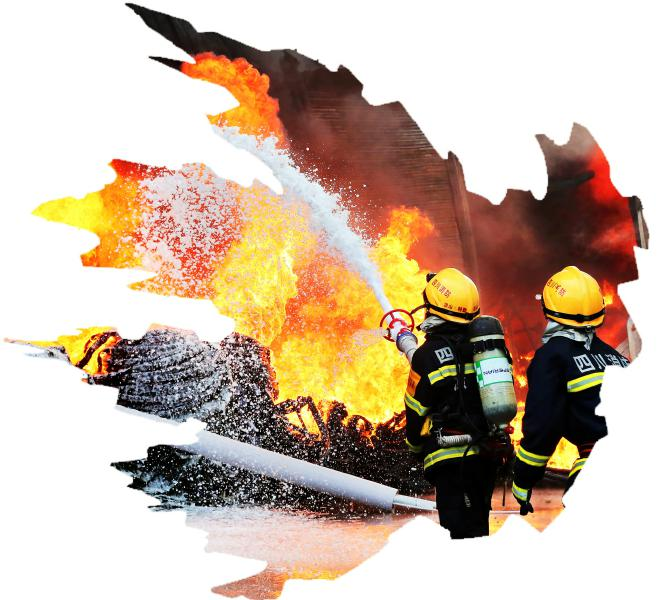 哪里急难险重,哪里就有消防员的无畏冲锋。赴汤蹈火是他们毫不犹豫的行动自觉。