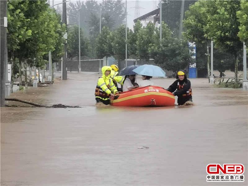 郑州市消防救援支队已营救被困人员1231人